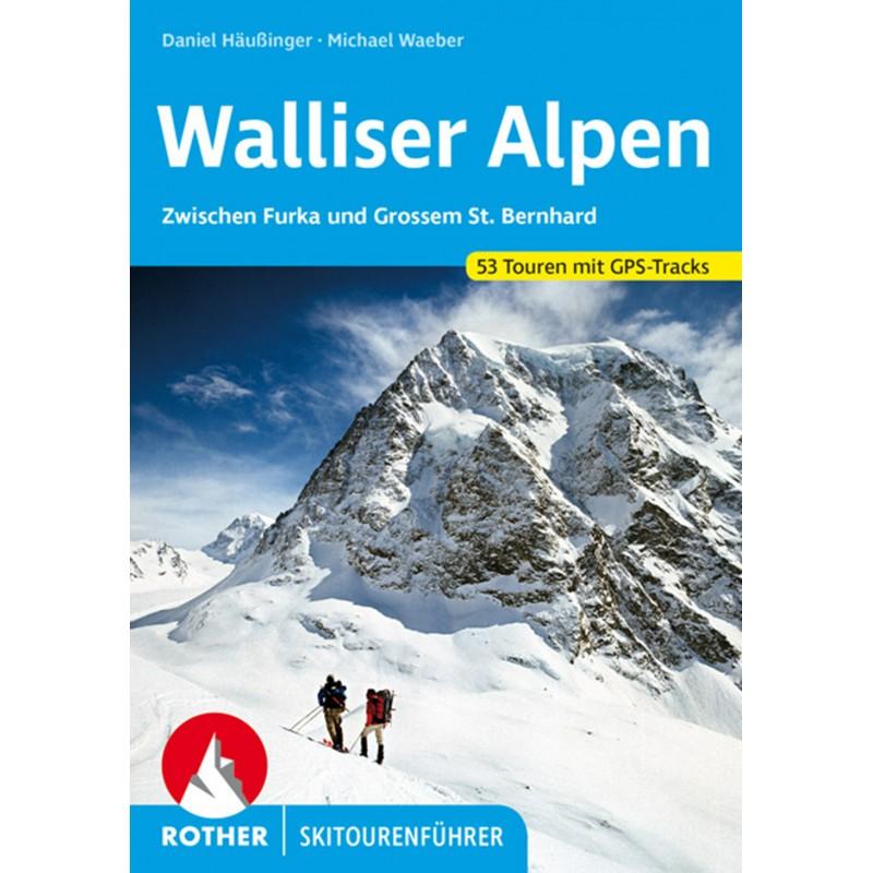 Skitourenführer Walliser Alpen