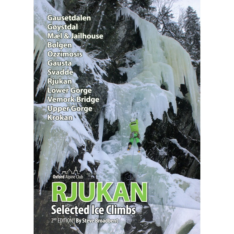 Eiskletterführer Selected Ice Climbs Rjukan