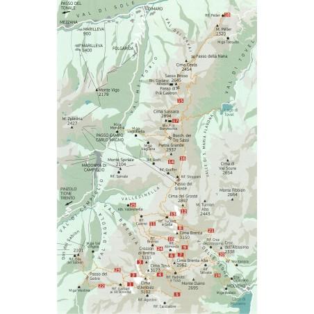 Bocchette-Weg und Klettersteige der Brentagruppe