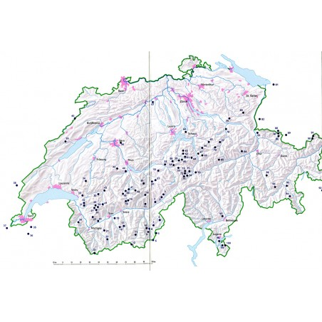 Übersicht der Klettersteige in der Schweiz