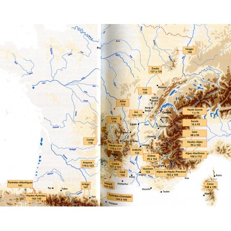 Klettersteigfuehrer Frankreich